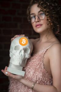 girl&bitcoinskull